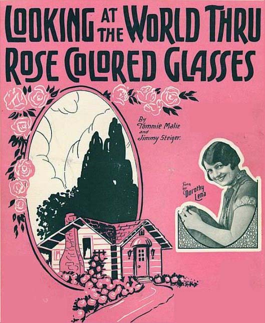 Rose-colored glasses | You've Got Some Science On You |Rose Colored Glasses Readers